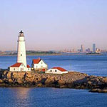 Boston Harbor Islands lighthouse