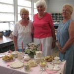 Geraldine Dailey, Mary Fitzpatrick, Patricia McGilvray at Tea Party