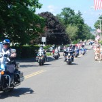 July 4 Parade begins