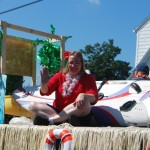 Surf's Up Squantum, 2nd Place float