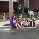 Parade watchers (Photo: Monica Lee)