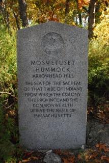 Moswetuset Hummock marker