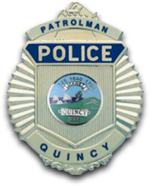 Quincy Police badge