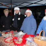 Cookies and cocoa at Squantum Tree Lighting 2015