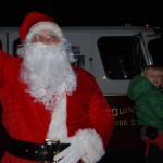 Santa at Squantum Tree Lighting 2015