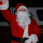 Santa at Squantum Tree Lighting